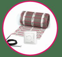 Maty grzejne DEVIcomfort + termostat DEVIreg 528