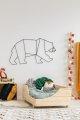 BOX 4 90x190cm Łóżko drewniane dziecięce