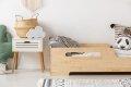 BOX 2 80x180cm Łóżko drewniane dziecięce