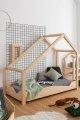 Luna A 80x160cm Łóżko dziecięce domek ADEKO