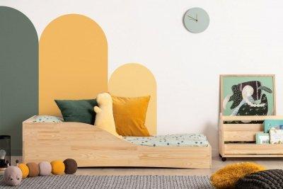PEPE 3 70x160cm Łóżko drewniane dziecięce
