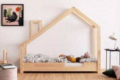 Luna C 100x190cm Łóżko dziecięce domek ADEKO