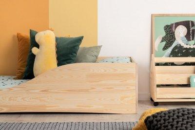 PEPE 3 100x190cm Łóżko drewniane dziecięce