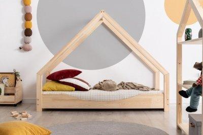 Loca E 70x190cm Łóżko dziecięce drewniane ADEKO