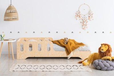 KIKI 6  90x170cm Łóżko dziecięce drewniane ADEKO