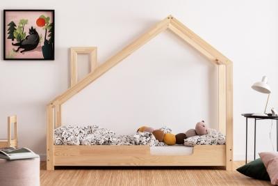 Luna C 100x200cm Łóżko dziecięce domek ADEKO