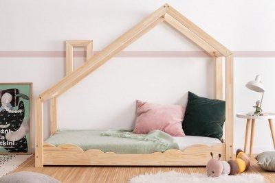 Luna D 80x150cm Łóżko dziecięce drewniane ADEKO