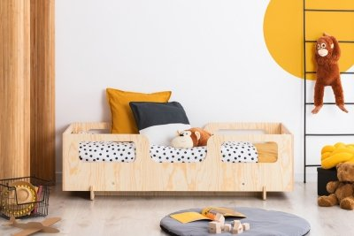 KIKI 17  90x170cm Łóżko dziecięce drewniane ADEKO