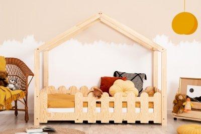 ZIZI B 90x160cm Łóżko dziecięce domek ADEKO
