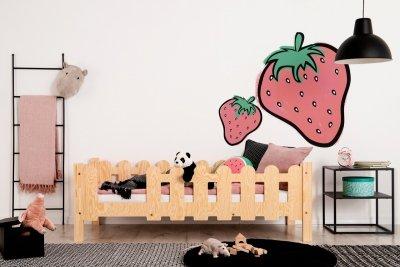 OLAF B 80x190cm Łóżko dziecięce domek ADEKO