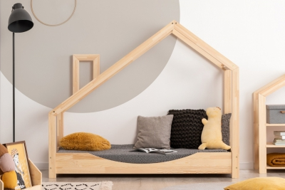 Luna E 70x170cm Łóżko dziecięce drewniane ADEKO
