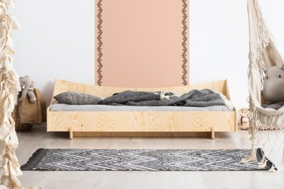 KIKI 8  80x160cm Łóżko dziecięce domek ADEKO