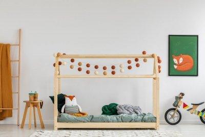 Mila MM 120x190cm Łóżko dziecięce domek ADEKO