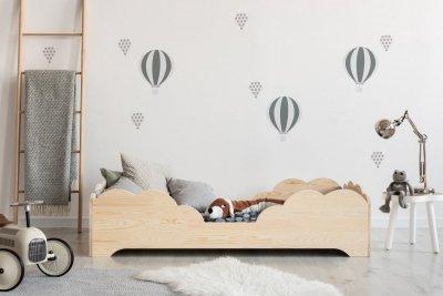 BOX 10 70x160cm Łóżko drewniane dziecięce