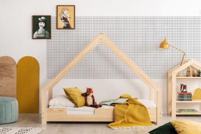 Loca C 70x190cm Łóżko dziecięce drewniane ADEKO