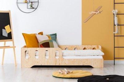KIKI 1 - P 90x150cm Łóżko dziecięce drewniane ADEKO