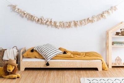 KIKI 2  80x170cm Łóżko dziecięce drewniane ADEKO