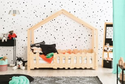 SELO B 90x180cm Łóżko dziecięce domek ADEKO
