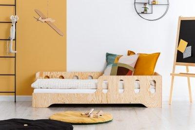 KIKI 1 - L  80x180cm Łóżko dziecięce drewniane ADEKO