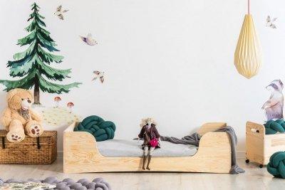 PEPE 6 70x160cm Łóżko drewniane dziecięce