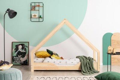 Loca B 80x170cm Łóżko dziecięce drewniane ADEKO