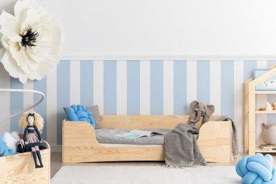 PEPE 4 90x150cm Łóżko drewniane dziecięce