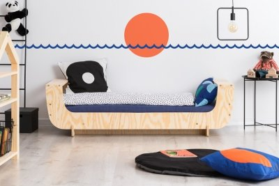 KIKI 14  80x150cm Łóżko dziecięce drewniane ADEKO