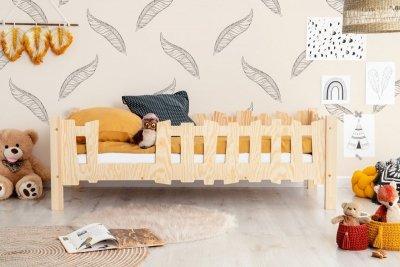 Pikko B 80x160cm Łóżko dziecięce domek ADEKO