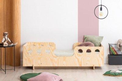 KIKI 15  80x150cm Łóżko dziecięce drewniane ADEKO