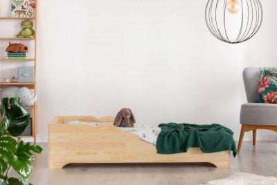 BOX 11 100x180cm Łóżko drewniane dziecięce