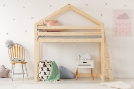 Kinderbett Etagenbett : Kinderbett etagenbett häuschenbett mila dmpba adeko