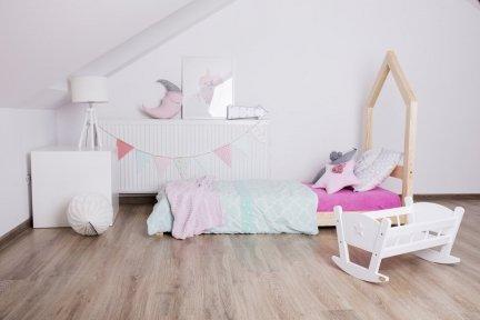 Łóżko drewniane Mila SM 100x190cm