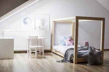 Łóżko drewniane Mila KM 80x140cm