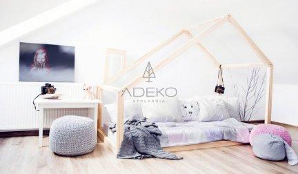 Łóżko drewniane Mila DM 80x140cm
