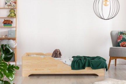 BOX 11 90x150cm Łóżko drewniane dziecięce