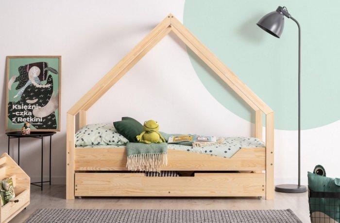 Loca A 90x160cm Łóżko dziecięce drewniane ADEKO