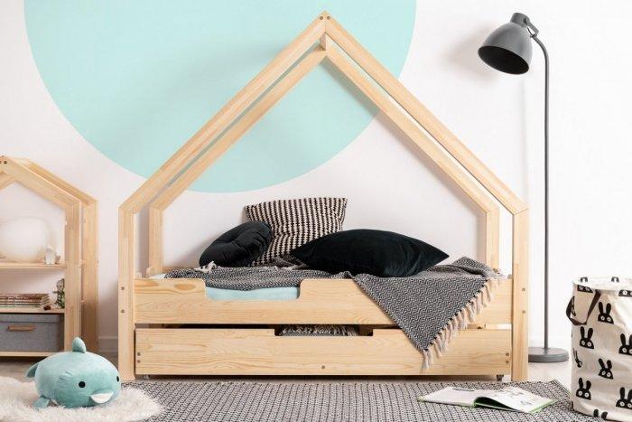 Loca C 80x160cm Łóżko dziecięce drewniane ADEKO