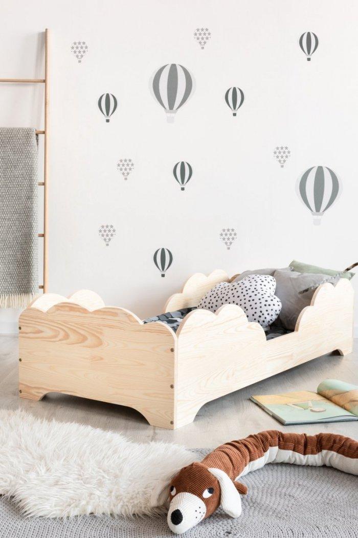 BOX 10 90x170cm Łóżko drewniane dziecięce