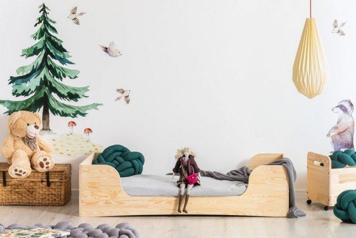 PEPE 6 90x200cm Łóżko drewniane dziecięce