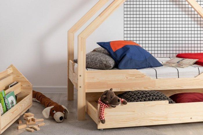 Loca B 70x160cm Łóżko dziecięce drewniane ADEKO