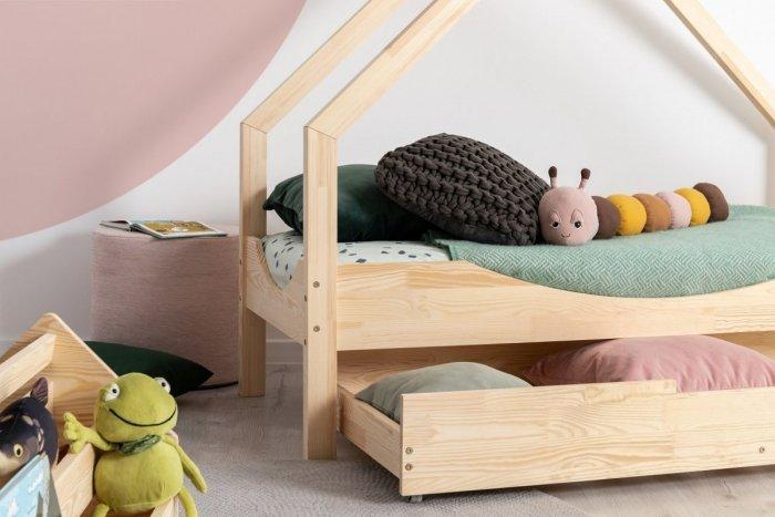 Loca E 80x180cm Łóżko dziecięce drewniane ADEKO