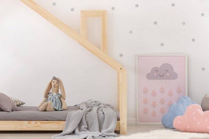 DMS 100x190cm Łóżko dziecięce domek Mila ADEKO