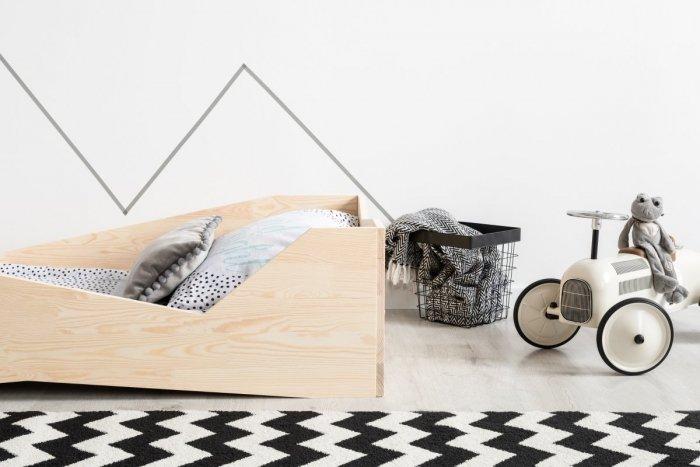 BOX 5 90x140cm Łóżko drewniane dziecięce