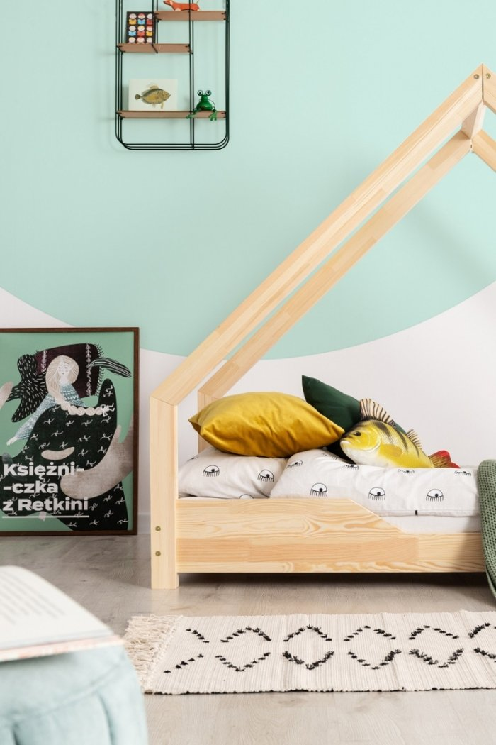 Loca B 70x200cm Łóżko dziecięce drewniane ADEKO