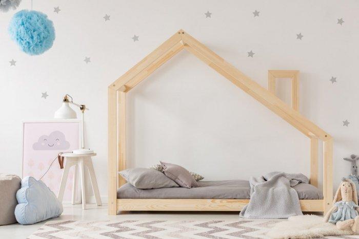 DMS 135x190cm Łóżko dziecięce domek Mila ADEKO
