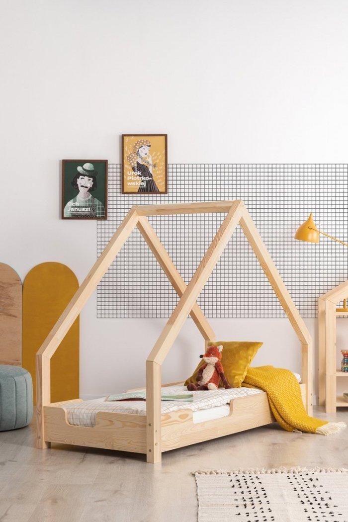 Loca C 80x190cm Łóżko dziecięce drewniane ADEKO