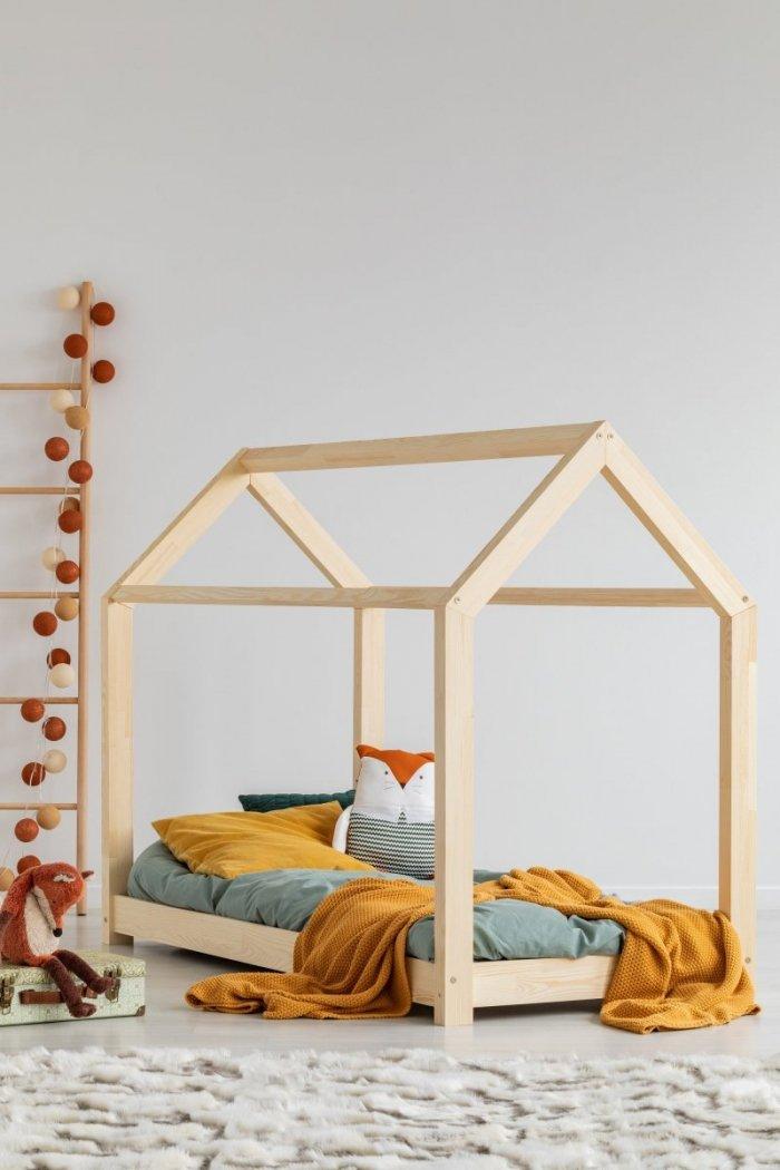 Mila MM 135x190cm Łóżko dziecięce domek ADEKO