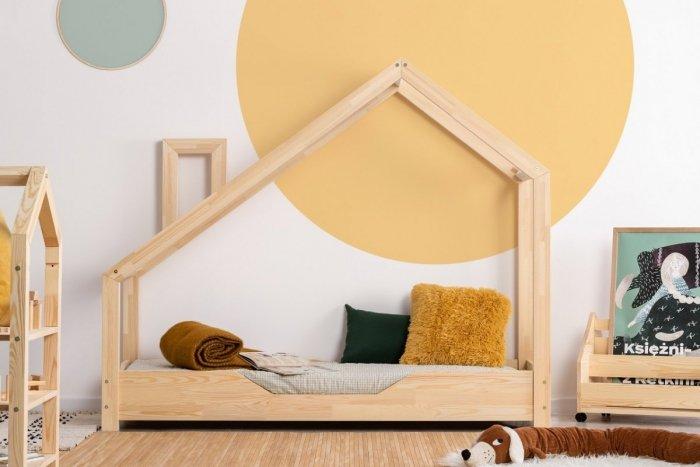 Luna B 70x160cm Łóżko dziecięce domek ADEKO