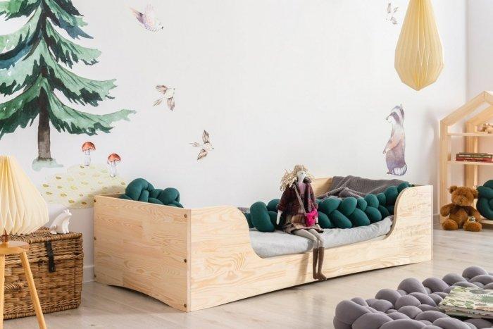 PEPE 6 100x190cm Łóżko drewniane dziecięce