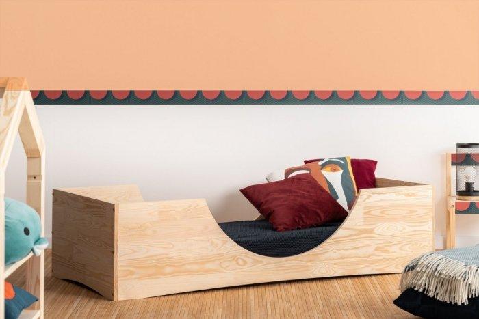 PEPE 2 90x190cm Łóżko drewniane dziecięce